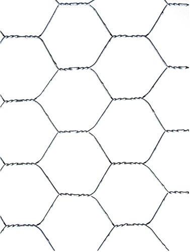 Tenax 74020600 Examet 25 Rete metallica in filo di ferro a triplice (Piccola Torsione)