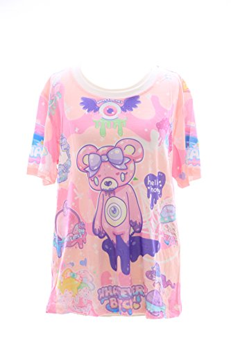 Kawaii-Story T-06 Lolita T-Shirt Bär Bear Fantasy Harajuku Japan Trend Fashion Süß