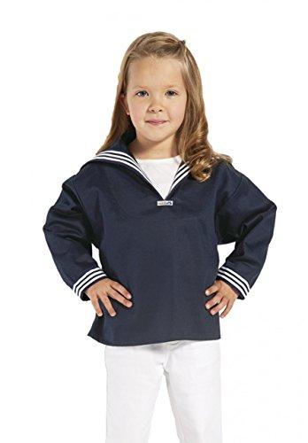 Blaues Kinder Matrosenhemd klassischer Stil von Modas Größe 158