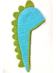 Recién nacido Bebé/Kids 'Cute/de tapa de gorro de Crochet Dinosaurio Fotografía Sombrero de Disfraz (Modelo: br010031)
