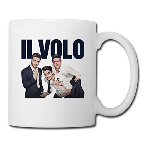 ROUNG Il Volo Band Coffee Mugs White by ROUNG