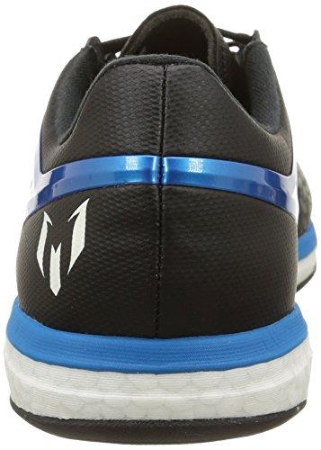 Adidas Messi 10.2 Boost Scarpe sportive, Uomo Core Black/Solar Blue2 S14/Zero Met.