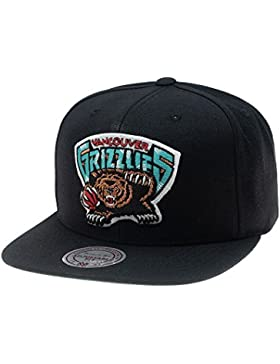 Mitchell & Ness - Gorra de béisbol - para Hombre Negro Negro única