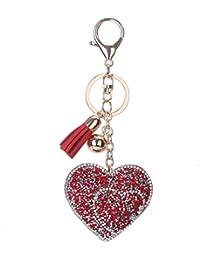 c14434ffb5cf Amazon.fr   porte clé coeur - 1 étoile   plus   Bijoux