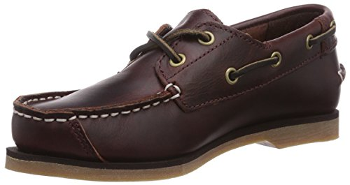 Timberland Boat Shoes FTK Peaks Island 2 Eye Boat Shoe 85954, Unisex - Kinder, Bootsschuhe Braun (Brown)