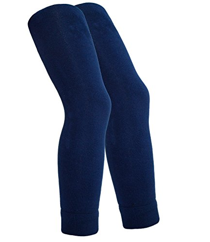 Ewers Mädchenleggings Leggings Thermoleggings Markenleggings Freizeithose Strumpfhose einfarbig für Kinder (EW-95017-W17-MA3-129-134/146) in Marine, Größe 134/146 inkl. EveryKid-Fashionguide