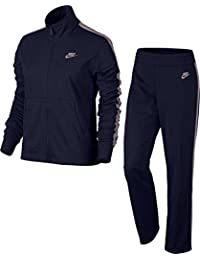 Nike W NSW Track Suit PK Oh Chándal, mujer, 830345-471, Donner Blue/Partikel Rosa, small