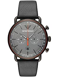 986242c412b Emporio Armani Aviator Analog Grey Dial Men s Watch-AR11168