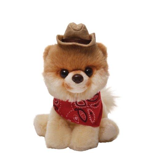 Gund Plüsch Itty Bitty Boo - Worlds Cutest Dog - Boo ist der süßeste Hund auf der ganzen weiten Welt - knuffiger Kuschelhund mit Cowboy Hut (Der Hüte Aus Welt Ganzen)