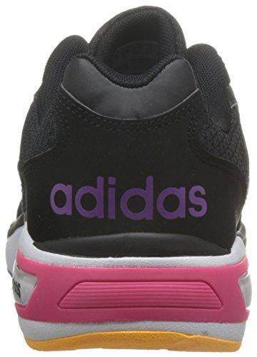 adidas Damen Cloudfoam 8tis W Turnschuhe Negro (Negbas / Negbas / Pursho)