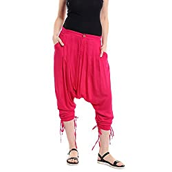 A Desi Weaves Vibrant And Loud Fuschia Jodhpuri Pant