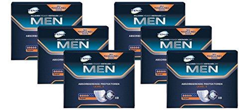 TENA MEN Level 3 - Inkontinenzeinlagen für Männer mit mittlerer Blasenschwäche / Inkontinenz, Vorteilspack (48 Hygiene-Einlagen) - Männer Für Inkontinenz-unterwäsche