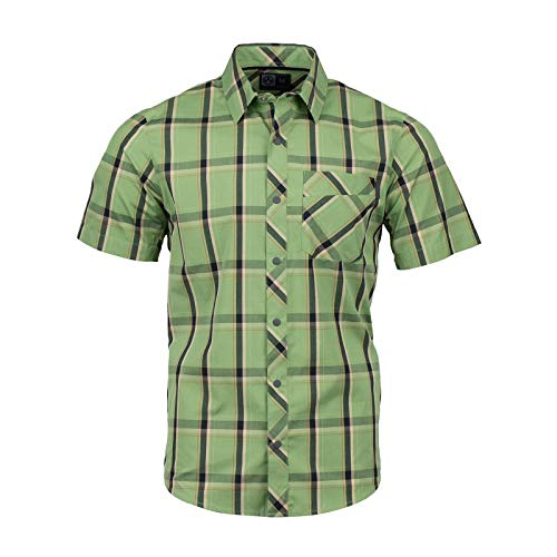 2 Button-up-shirt (Magpul Herren R&r Plaid Short Sleeve Button-up Shirt kurzärmelig, Jade, XX-Large)