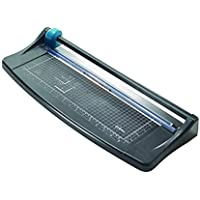 Avery A3 TR003 Photo and Paper Trimmer Paper Cutter, Black and Teal