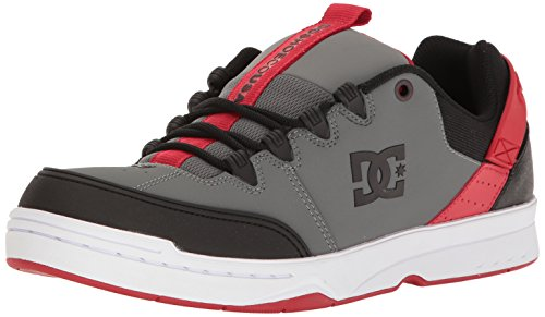 DC Syntaxe Chaussures de skate pour hommes Grey/black/red