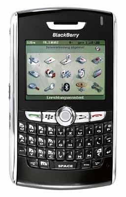 BlackBerry 8800 Vodafone Blackberry 8800 Bluetooth