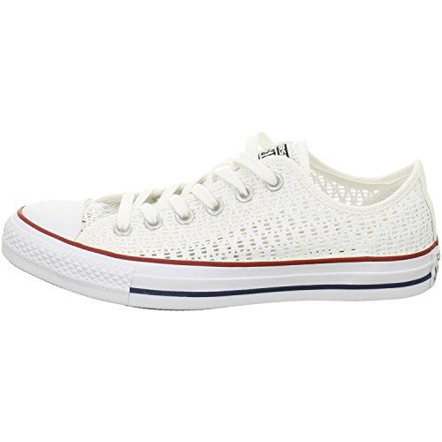 Converse All Star Mandrini 551541 Crochet Bianco Bianco Bianco Nero White