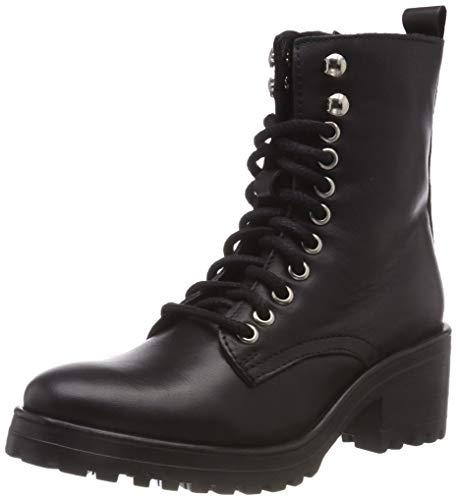Steve Madden Damen Geneva Ankleboot Stiefeletten, Schwarz (Black Leather 017), 38 EU -