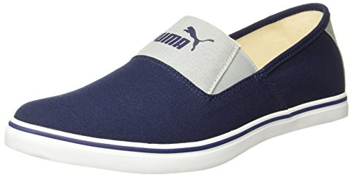 Puma Men's Clara IDP Mazarine Blue-Quarry Loafers - 9 UK/India (43 EU)