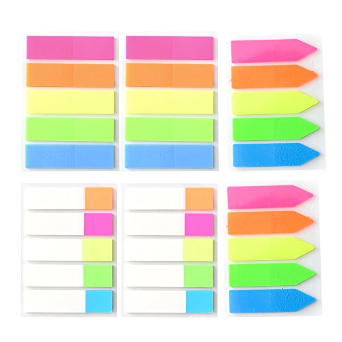 Marcadores de neón para marcadores de página