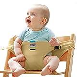 Baby-Essgurt Sicherheitssitz Mit Esstisch-Sicherheitsgurt Baby-Esstisch Zusatz Band,Brass