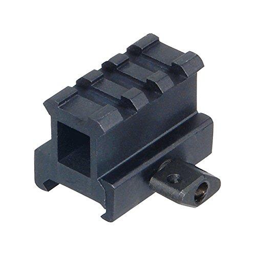High Riser 3 (UTG 1 inch 3-Slot Riser/Montage-Erhöhung 25 mm High Picatinny/Weaver, MNT-RS10S3)
