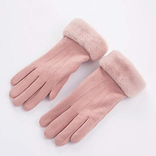 41D4tTQ8PZL. SS500  - Gloves Cycling Ski Running Windproof Ms Winter Plus Velvet Thicken Touch Screen Five Fingers Outdoor Riding Keep Warm ZHAOYONGLI