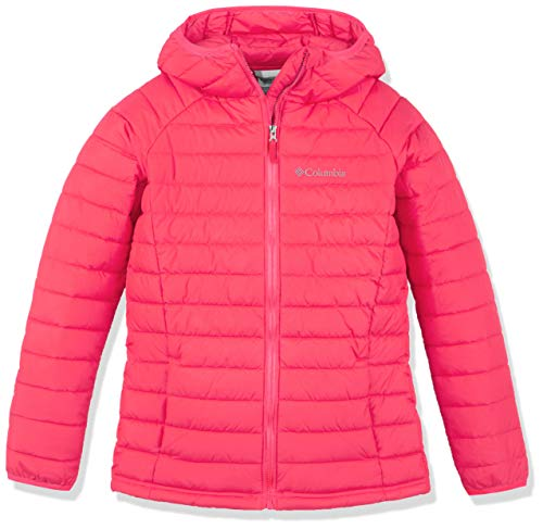 Columbia Powder Lite Girls Hooded Insulated Jacket