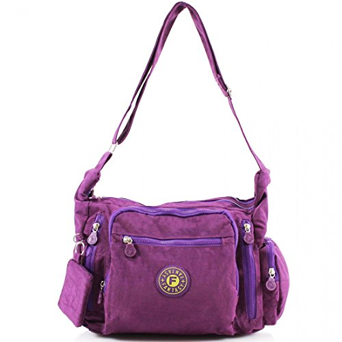 YourDezire , Borsa Messenger  donna Purple