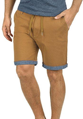 !Solid Lagoa Herren Chino Shorts Bermuda Kurze Hose Mit Kordel Aus Stretch-Material Regular Fit, Größe:XL, Farbe:Cinnamon (5056)