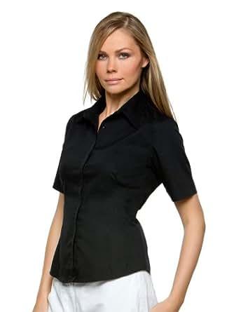 Tire-chemise manches courtes-couleur :  noir-taille :  l