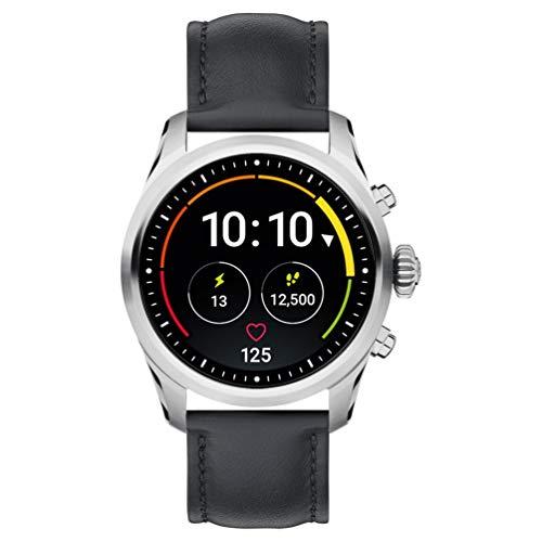1 - Reloj Montblanc Summit 2 Smartwatch 119440 Acero Inoxidable Piel Negra