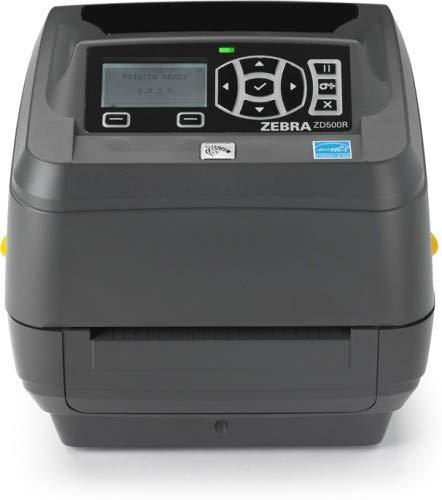 Zebra ZD500R RFID, 300dpi, DT/TT Cutter, Serial, USB, parallel, ZD50043-T2E3R2FZ (Cutter, Serial, USB, parallel WLAN, BT) - Dt Cutter