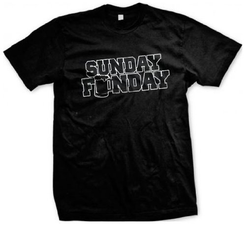 Sunday Funday Bierkrug Men's T-shirt (Flag Confederate T-shirts)