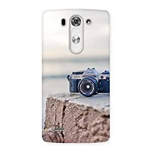 Delighted Camera on Rock Multicolor Back Case Cover for LG G3 Beat