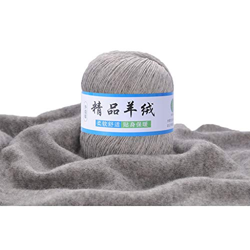 FZMT Weiche Kaschmir Strickwolle Garn DIY Baby Warm Schal Schal Hut Häkeln Gewinde Liefert (3) (Unterhemd Beständig)