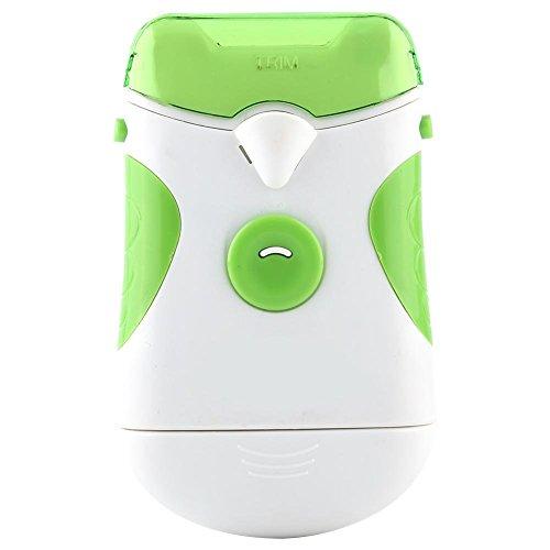 Elektrischer Nagel Trimmer Weiß Grün Dual-Use Nails Trim File Clipper Maniküre Werkzeuge -