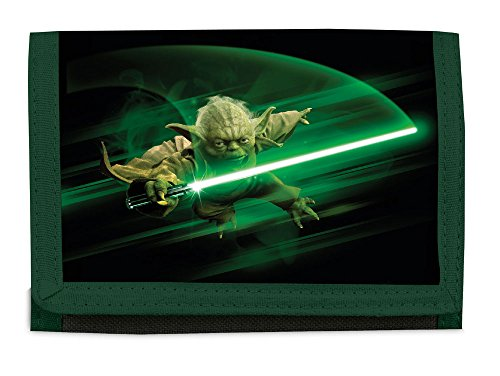 Disney Rebels Star Wars Meister Yoda Geldbörse Geldbeutel Portemonaie Portmonee