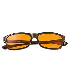 PRiSMA Blaulichtfilter-Brille FREiBURG Blueblocker-Brille – Anti-Blaulicht – bluelightprotect PRO – F709