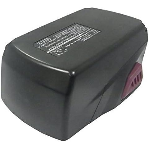 Batería 4000mAh para herramienta Hilti AG 125-A22 HDE 500-A22 SCM 22-A SCW 22-A SD 5000-A22 SF 22-A SID 22-A SIW 22-A SIW 22T-A TE 2-A22 TE