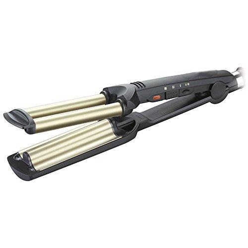 SONAR WAVE ENVY Haarglätter für den professionellen Gebrauch mit 3 Wellen mit 55 W für die Konzentration von Ersatz-Haaren und Tonabnehmer mit bis zu 200 Grad max. SN-2022