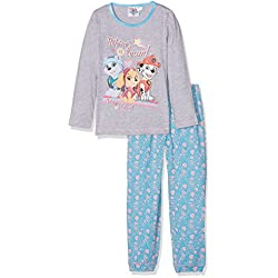 Nickelodeon Girl's Paw Patrol We are A Team Pyjama Set, Grey, 4-5 Years (Manufacturer Size: 5 Years)