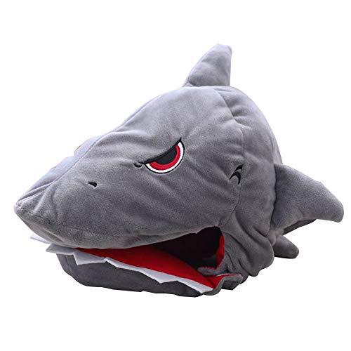 Filfeel Kinder Cosplay lustige Shark Kopf Hut für Party Geschenk neuheit Spielzeug plüsch Dress up