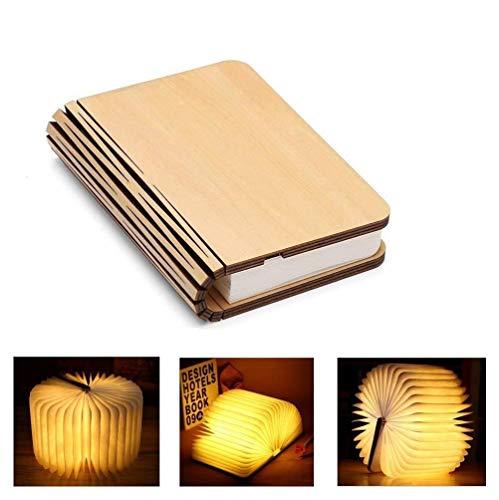 JHSHENGSHI Smart Nachttischlampe,Flexibel LED Buchlampen mit Akku 2000 mAh Wiederaufladbar - Nachttischlampe Nachtlicht - Dekorative Lichter - hell genug zu das Ablesen