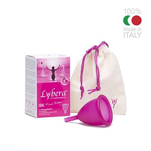 Lybera Coppetta Mestruale Fucsia Made In ITALY Taglia 1