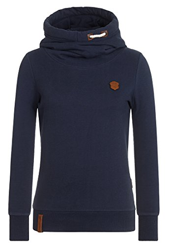 Naketano Female Hoody Ralle Rizzo Pimped IV Dark Blue, M (Hoody 4)
