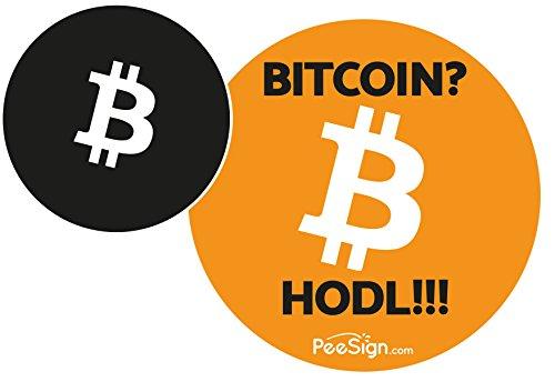Effetto adesivi Orinatoio peesign Bitcoin Orinatoio gioco