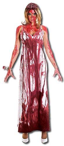 Blutüberströmte Carrie Prom Queen Kostüm - Größe M