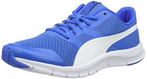 Puma Flexracer, Sneakers basses mixte adulte Blau (Electric Blue lemonade-puma White 14)