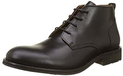 EU Noir Homme Schmoove Black Desert Steam Boots 42 0W0ZgFqS